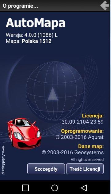 AutoMapa 4.0.0 ( 1086 ) L Polska 1512 Final Full Android