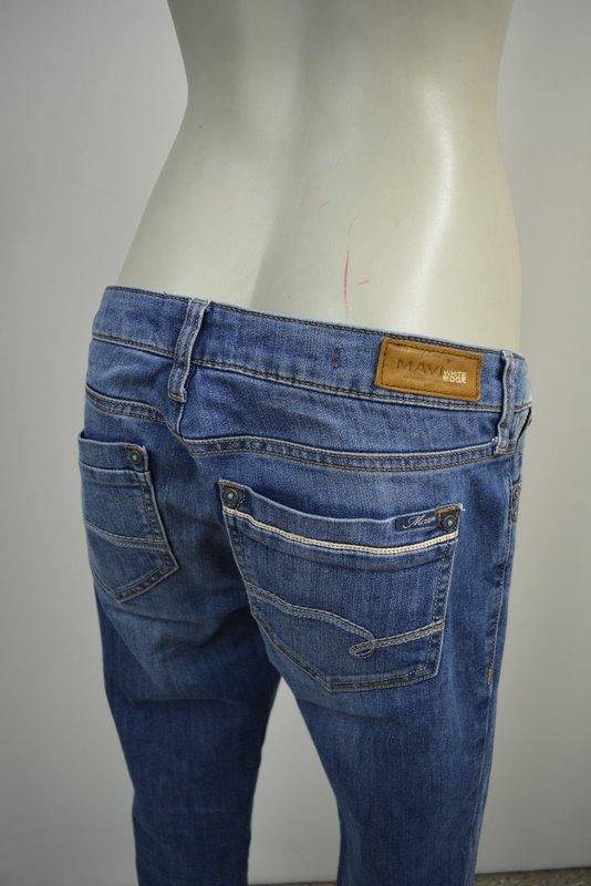 mavi lindy low rise skinny h ft jeans hose w31 l30 blau. Black Bedroom Furniture Sets. Home Design Ideas