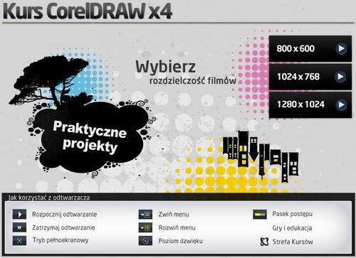 Kursy CorelDRAW - cz. 2 praktyczne projekty (PL)